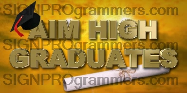 06-030 AIM HIGH GRADUATES 192X384 RGB