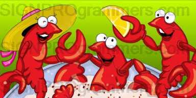 02-007 Crawfish Party 192×384 RGB