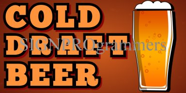 02-026 COLD DRAFT BEER_192x384 40