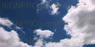 09-007 CLOUDS BACKGROUND 2 192x384R
