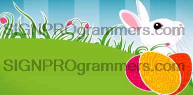 09-012 EASTER BUNNY BACKGROUND 192×384 RGB