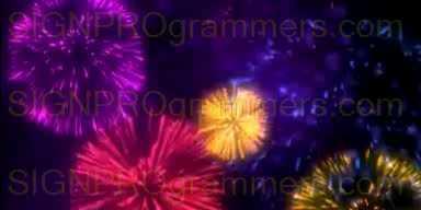 09-015 FIREWORKS BACKGROUND_192x384