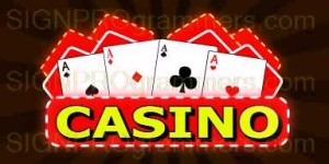 20-003 Casino Playing Cards 192x384R