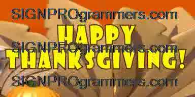 wm 10-11-00-503 HAPPY THANKSGIVING-SILLY TURKEY RUNNING 192X384 RGB
