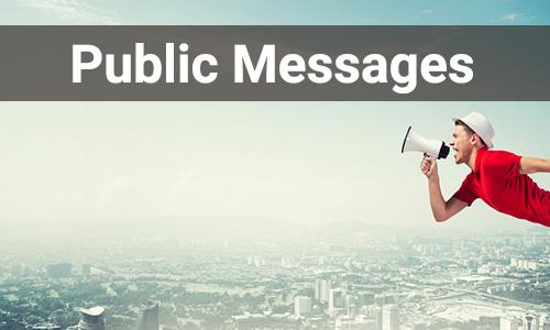 public message-category