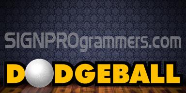 wm WEBART 05-008 DODGEBALL 192×384 RBG