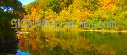 wm WEBART 09-002 AUTUMN RIVER SCENE 129X440 RGB