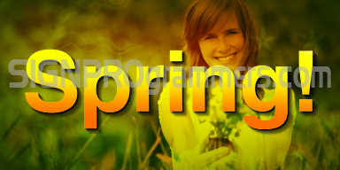 09-032 SPRING BACKGROUND 192×384