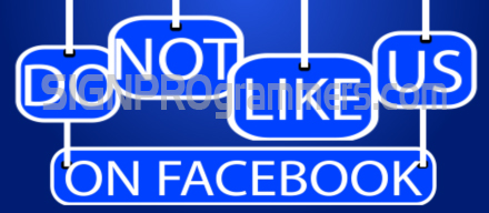 15-011 Don't Like Us On Facebook 192×440