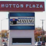 Hutton Plaza digital sign maytag
