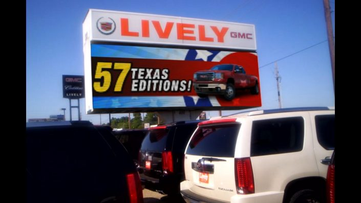 Auto Dealer Sign