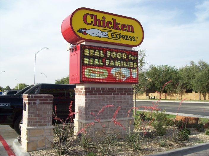 Chicken Express Restaurant 48×96 18mm