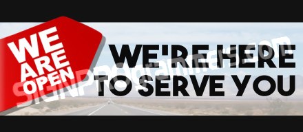 03-066 Here to Serve You_192x440W